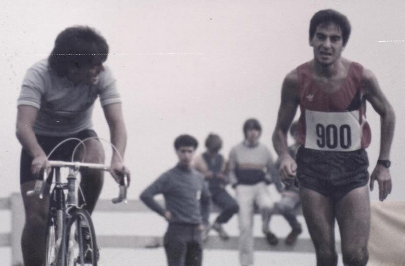 El corredor. Luis Ibergallartu